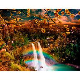 Wailua Falls in the Golden Twilight (Small)