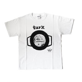 TURK  T-SHIRTS(white)lady's