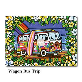 Mac Book カバー 〝Wagen Bus Trip〟