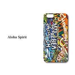 "iPhone5/5S/SE/6/6S/7 対応 ハードケースカバー ""Aloha Spirit"""