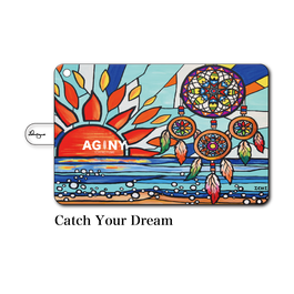 "iPad mini~4/Air1.2対応 手帳型カバー ""Catch Your Dream"""