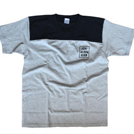 オリジナルロゴ  ICHI ALOHA CLUB square  Tシャツ