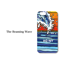 "iPhone 6/6S/7 Plus対応 ハードケースカバー ""The Beaming Wave"""