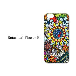 "iPhone 5/5S/SE/6/6S/7 対応   ハードケースカバー ""Botanical Flower B"""