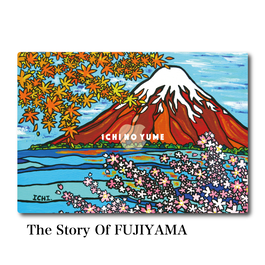 Mac Book カバー 〝The Story Of  FUJIYAMA〟