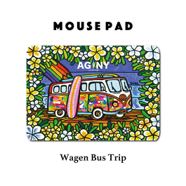 Mouse Pad マウスパッド 〝Wagen Bus Trip〟