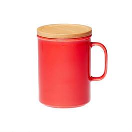 canister mug L レッド