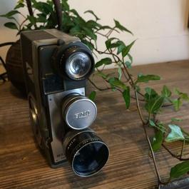 【古道具006】エルモ8-L ELMO8-L ぜんまい8ミリカメラ  ELMO8-L
