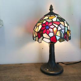 【雑貨007】ステンドグラス ランプ