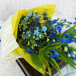Summer gift/ ブーケ/生花【blue】
