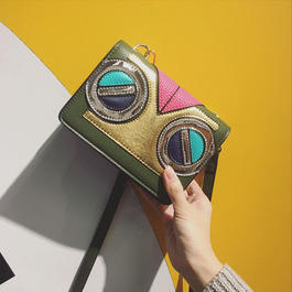 Owl eyes mini shoulder bag