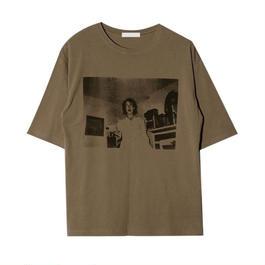 alphabet print t-shirt