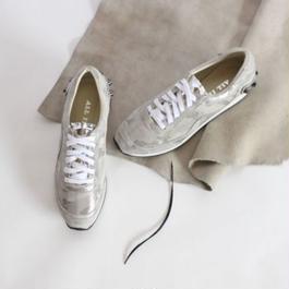 shiny camo shoes