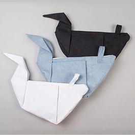 paper cranes canvas bag