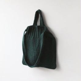 2 way wool knit bags