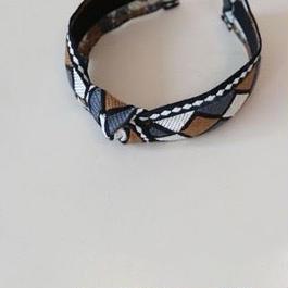 geometric pattern hairband