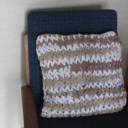 Chunky Knit Pillow Case チャンキーニットクッションカバー(ベージュ)