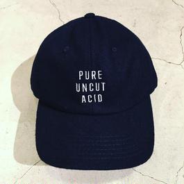 PURE UNCUT ACID Wool Cap / Navy