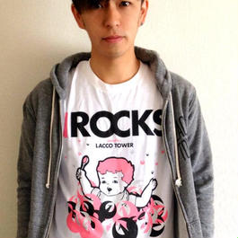 IROCKS T-SHIRT 「Brother」 White