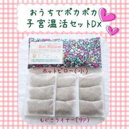 【復活!】ホットピロー子宮温活セットDX ◆もぐさライナー9P+ホットピロー小◆