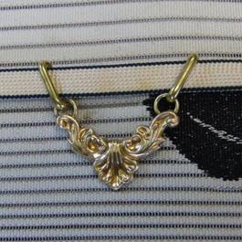 真鍮製 吊り下げ型帯留め 着物や浴衣の帯どめ飾りに