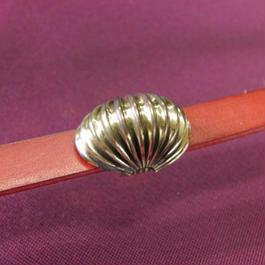 真鍮製 蛇腹ドーム型帯留め 着物や浴衣の帯どめ飾りにのコピー