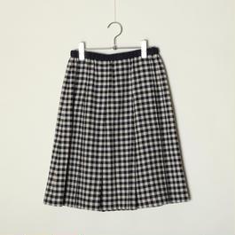 プリーツスカート/ギンガム