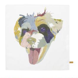 Handkerchief   Dog  ' J '        ハンカチ 犬「 J 」