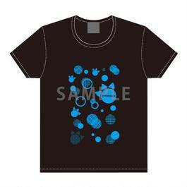 舞台「けものフレンズ」 Tシャツ ブラック