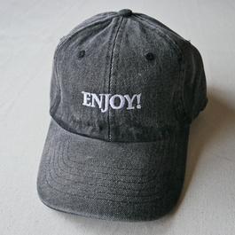 ENJOY! CAP (Black Denim)
