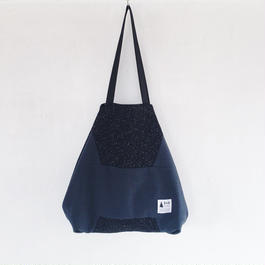 flag bag / wool(ブラック)