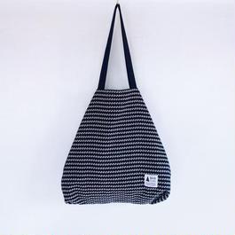 flag bag  /  tweed(ネイビー)