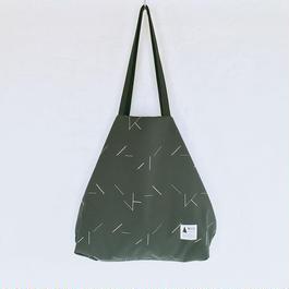 flag bag / lane(カーキ)