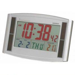 カラー電波時計・ソーラーエコ LC-821