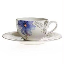 ビレロイ&ボッホ (Villeroy&Boch) マリフルールグリ コーヒーカップ&ソーサー 250ml