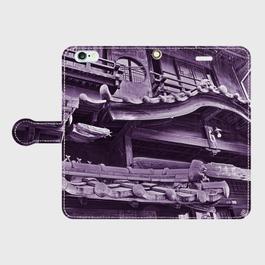 長崎県・丸山遊廓 iPhoneケース(手帳型)