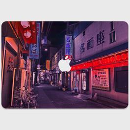 福岡県・小倉駅前歓楽街 MacBookスキンシール