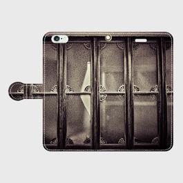 東京都・玉の井<飾り窓> iPhoneケース(手帳型)