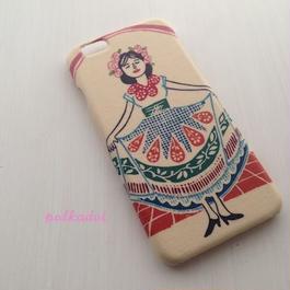 iPhone5/5S/5C/6/6Plus ケース   * El Barrio Hoyo メキシコの女の子