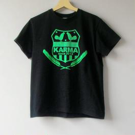 エンブレムTシャツネオン t2015ss-bk