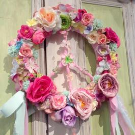 Chloe French Peace Wreath