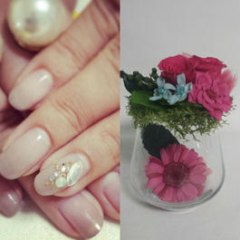 Mother's Day Gift 「Flower & Nail 」 お母様へネイル&花のギフト