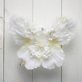 Le Papillon de fleur ヘアーアクセサリー(L/WH)BOX付き