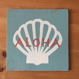 wood beach A〜shell aloha〜