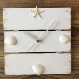 wood clock~Shell~