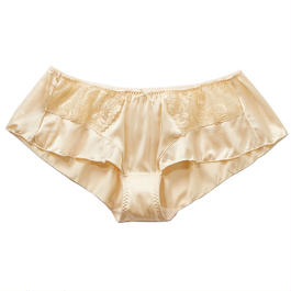 Peach Rose Silk Flare Panty