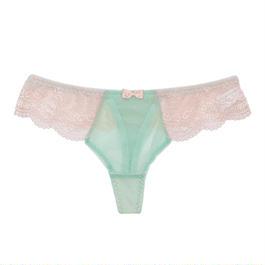 Floret Love MintBlue Thong