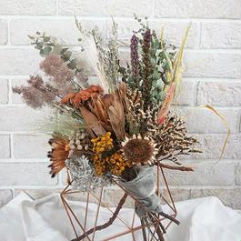 Summer native  bouquet&swag