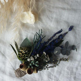 Lavender mini bouquet corsage A