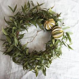 Wreath of Italian Ruskas and Lime